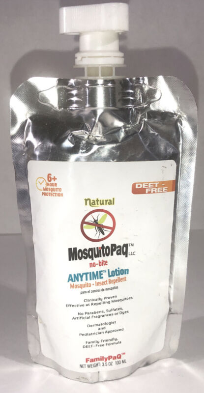 MosquitoPaq No Bite Anytime Outdoor Zone Mosquito DEET Free 6hr Protect Camping