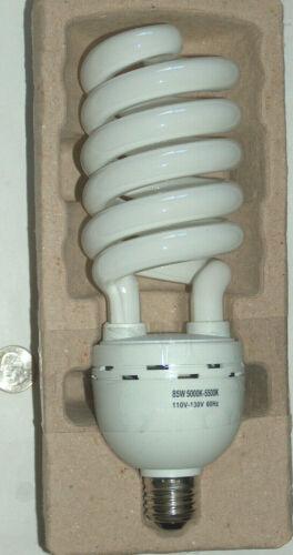 NEW 85W 5000K-5500K 120v-130v Photography Studio Day Light Bulb Fluorescent Lamp