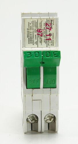 NC0230 Federal Pioneer 30 Amp Double Pole Circuit Breaker (FPE) Stab-Lok TESTED
