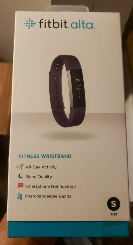 NEW Fitbit FB406PMS Alta Fitness Tracker - Plum - Small. Purple(5.5 - 6.7 Inch)*