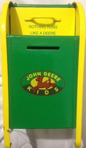 "BANK JOHN DEERE 1998 GEARBOX  KIDS ""LIMITED EDITION"" MAILBOX COIN BANK Rare"