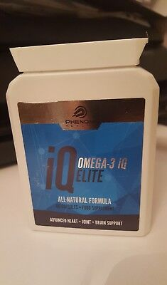 Omega-3 IQ Elite Dietary Supplement - 30 Capsules