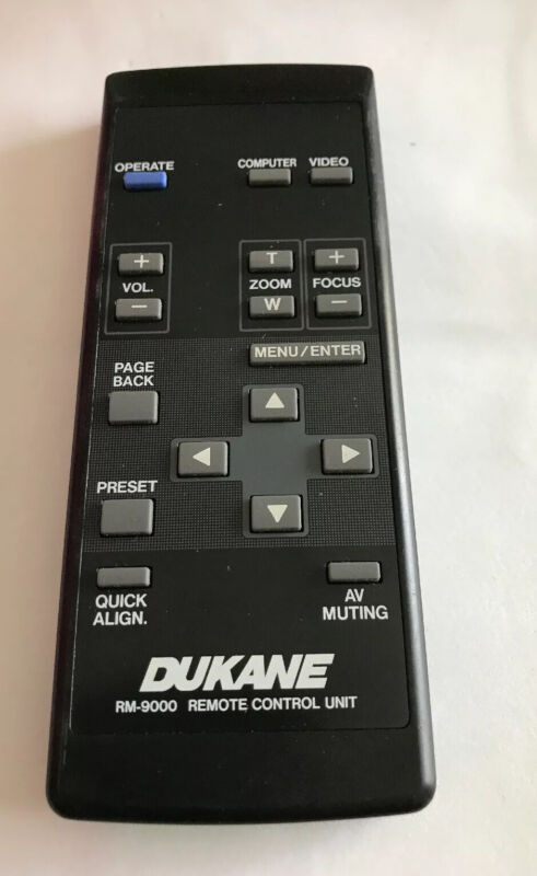 Dukane RM-9000 Remote Control Unit Fully Functional