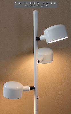 MID CENTURY MODERN ITALIAN WHITE POLE FLOOR LAMP! KOVACS SONNEMAN EAMES VTG 60'S for sale  Scottsdale