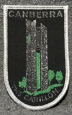 Lmh Patch Badge Canberra Musical Bell Tower The Carillon Aspen Island Australia