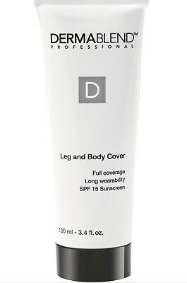Dermablend Leg and Body Cover 3.4oz / 100ml *NEW IN BOX* ()