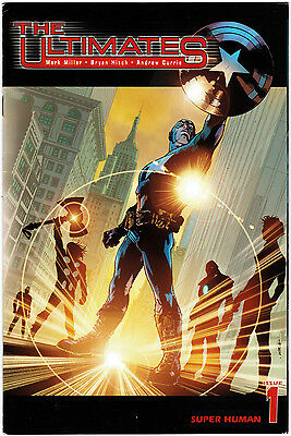 "The Ultimates (2002) #1 ""Super-Human"" Millar Hitch Currie Mounts VF     FREEPOST"