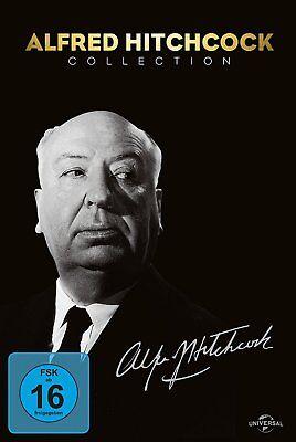 Alfred Hitchcock Collection # 14-DVD-AMARAY-BOX-NEU