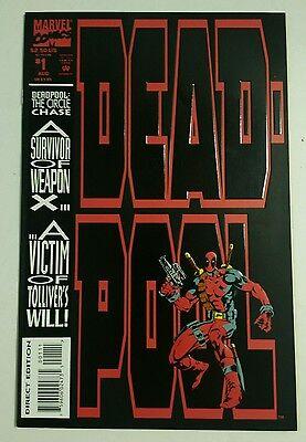 Marvel Deadpool #1 1993 Direct Edition Comic book](Deadpool 1 1993)