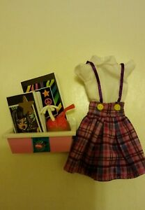 Dollhouse Monster High dress and LITTLES OOAK