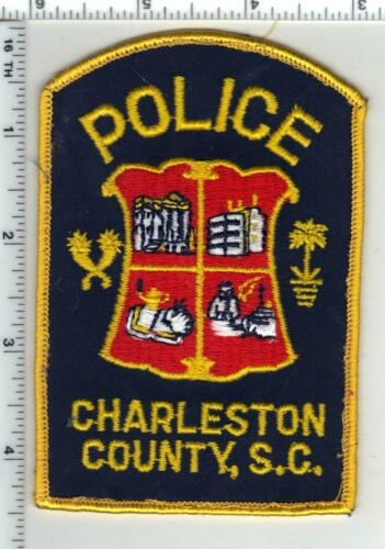 Charleston County Police (South Carolina) 5th Issue Uniform Take-off Patch