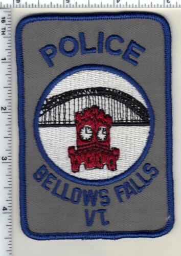 Bellows Falls Police (Vermont) Shoulder Patch from 1989