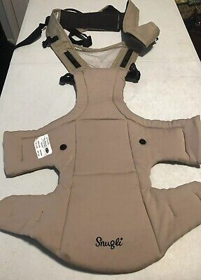SNUGLI BABY CARRIER machine wash  mesh panel  tan  EVENFLO a5z Baby Carrier Panel