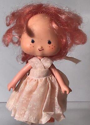 Vintage Original Strawberry Shortcake Raspberry Tart Figure Doll Pink Dress 1979 - Strawberry Shortcake Dress