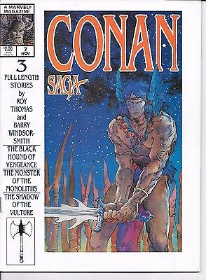Marvel Comics CONAN THE SAVAGE #3 magazine first printing