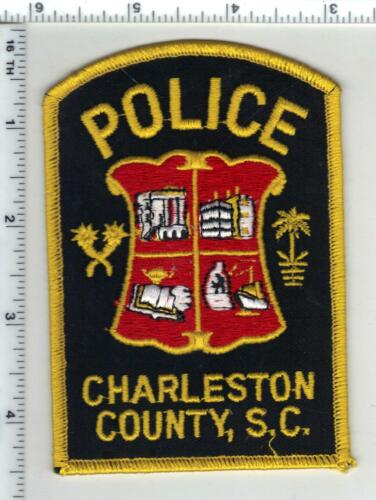 Charleston County Police (South Carolina) 3rd Issue Shoulder Patch