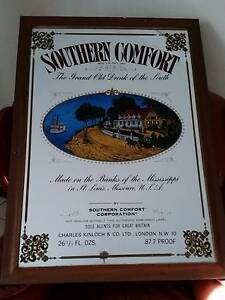 Vintage Southern Comfort The Grand Old Drink of the South Sign Merrylands Parramatta Area Preview