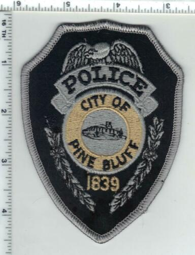 Pine Bluff Police (Arkansas) 1st Issue Wide Shoulder Patch