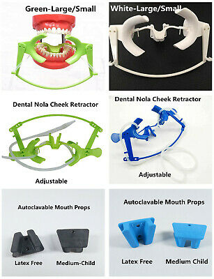 Dental Nola Dry Field System Lip Cheek Retractor Mouth Opener Props Adult Child