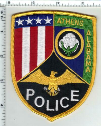 Athens Police (Alabama) 3rd Issue Shoulder Patch