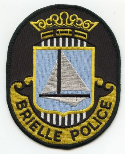 BRIELLE NEW JERSEY NJ POLICE PATCH