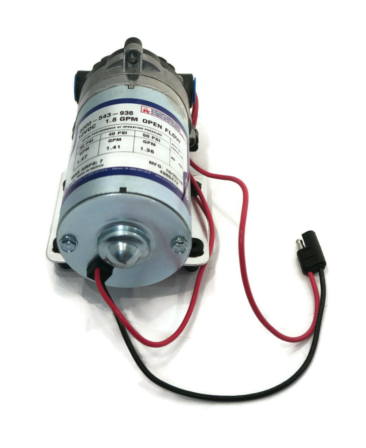 pump wire harness shurflo 12v volt demand water pump w/ wiring harness lawn ... #10