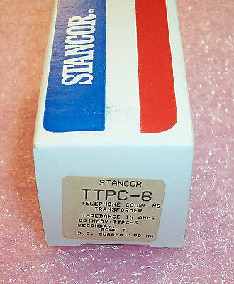 Ttpc-6 Stancor Telephone Coupling Transformer..nos In Box