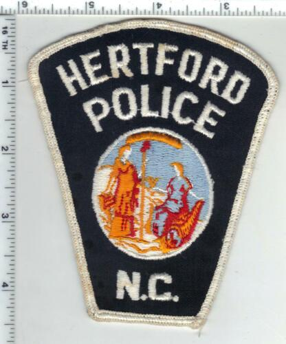Hertford Police (North Carolina) 1st Issue Uniform Take-Off Patch