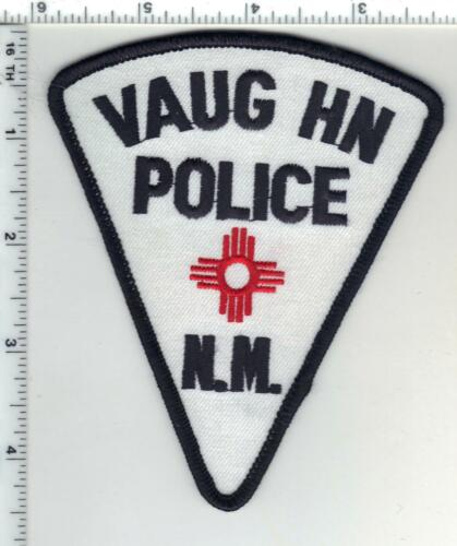 Vaughn Police (New Mexico) 3rd Issue Shoulder Patch