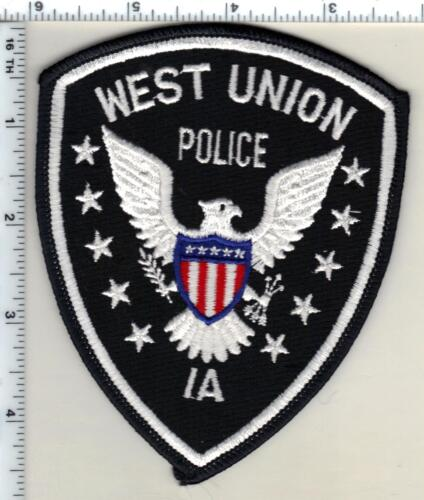 West Union Police (Iowa)  Shoulder Patch - new from 1990