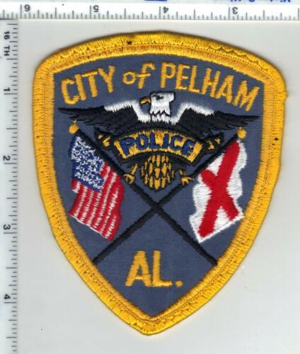 City of Pelham Police (Alabama) 1st Issue Uniform Take-Off Shoulder Patch