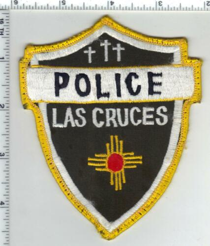Las Cruces Police (New Mexico) 1st Issue Uniform Take-Off Shoulder Patch