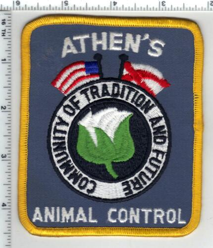 Athens Animal Control (Alabama) 1st Issue Shoulder Patch