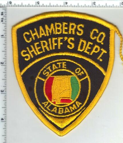 Chambers County Sheriff (Alabama) 2nd Issue Shoulder Patch