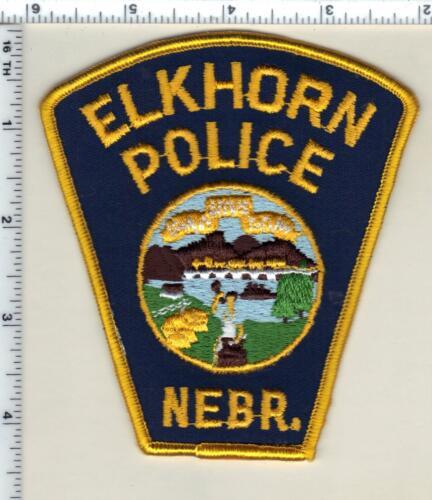 Elkhorn Police (Nebraska) 1st Issue Shoulder Patch