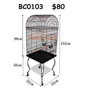New Medium Large Bird Cage Parrot Aviary Budgie Canary Stainless Richlands Brisbane South West Preview