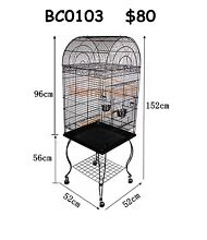 New Medium Large Bird Cage Parrot Aviary Budgie Canary Stainless Brisbane City Brisbane North West Preview
