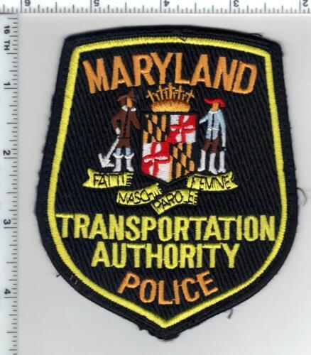 Transportation Authority Police (Maryland) Uniform Take-Off Shoulder Patch