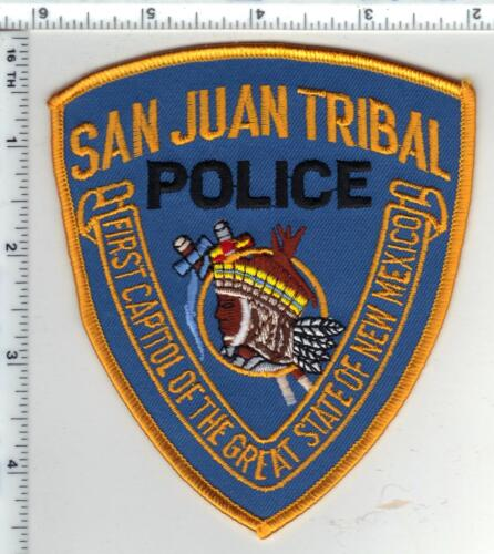 San Juan Tribal Police (New Mexico) 1st Issue Shoulder Patch
