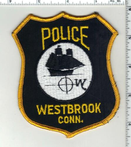 Westbrook Police (Connecticut) 2nd Issue Shoulder Patch