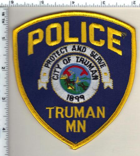 Truman Police (Minnesota) Shoulder Patch new from the 1980