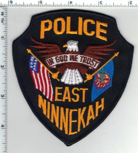East Ninnekah Police (Oklahoma) Shoulder Patch from the 1980