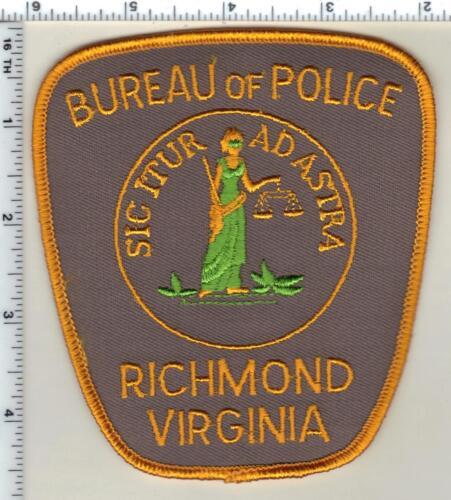 Richmond Bureau of Police (Virginia) Shoulder Patch from 1993