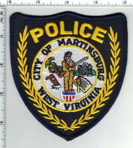 City of Martinsburg Police (West Virginia) 3rd Issue Shoulder Patch 1980