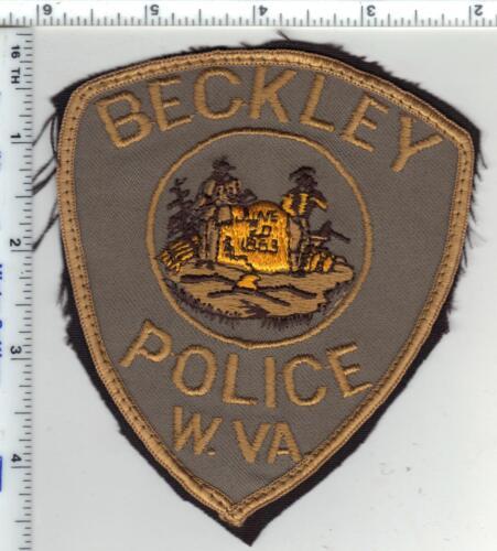 Beckley Police (West Virginia) 1st Issue Uniform Take-Off Shoulder Patch