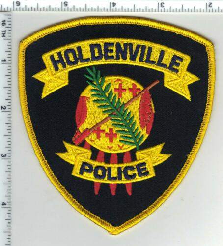 Holdenville (Oklahoma) Deputy Shoulder Patch from the 1980