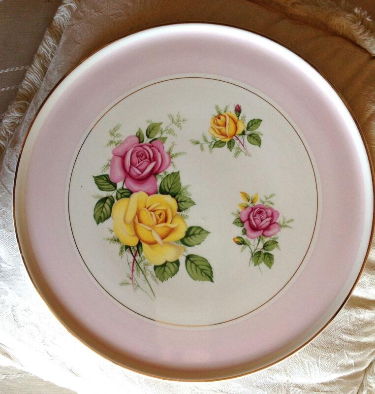 Royal Tudor Ware Barker Bros. Ltd. England Cake Plate circa 1930