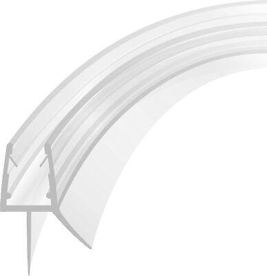 90 cm Duschdichtung Viertelkreis gebogen Runddichtung Runddusche für 5-8 mm Glas