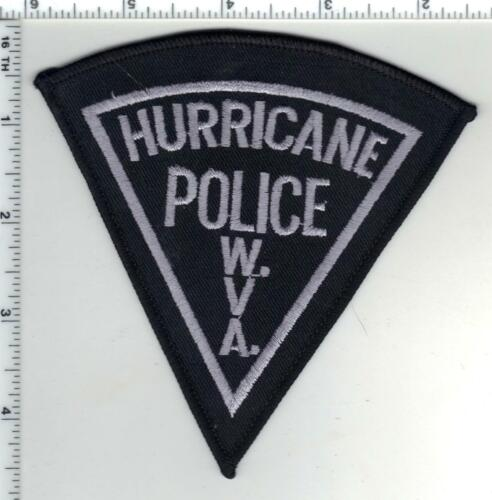 Hurricane Police (West Virginia) 1st Issue Subdued Shoulder Patch