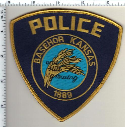 Basehor Police (Kansas) Shoulder Patch - new from 1997